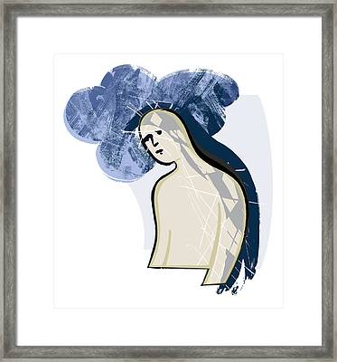 Depression Framed Print