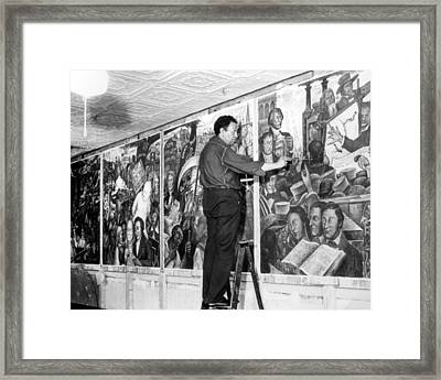 Diego Rivera, 1939 Framed Print