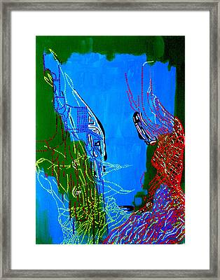Dinka Marriage Framed Print