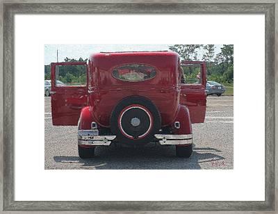 2 Door Coupe Framed Print