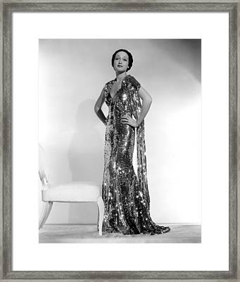 Dorothy Lamour, Paramount Pictures, 1936 Framed Print by Everett