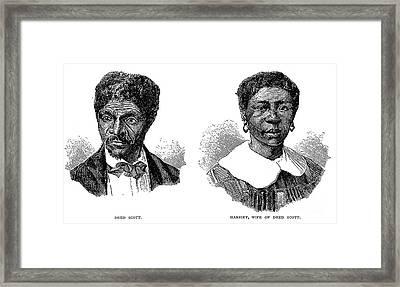 Dred Scott (1795?-1858) Framed Print by Granger