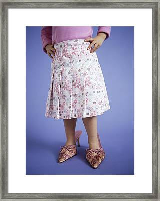 Dressing Up Framed Print by Ian Boddy