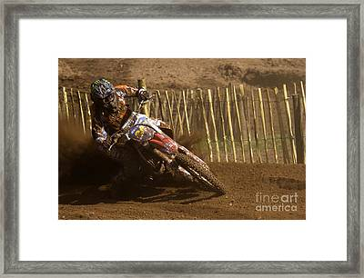 Dust And Mud Framed Print