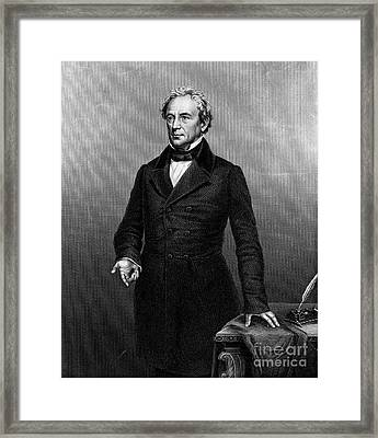 Edward Everett (1794-1865) Framed Print by Granger