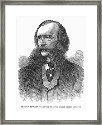 Edwards Pierrepont Framed Print by Granger