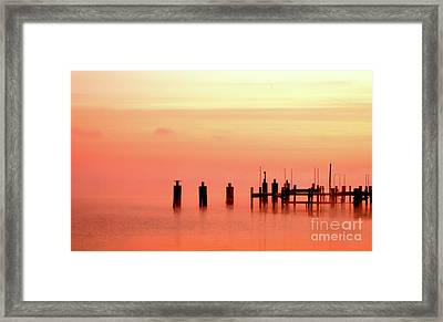 Framed Print featuring the photograph Eery Morn by Clayton Bruster
