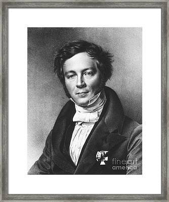 Eilhard Mitscherlich, German Chemist Framed Print by Science Source