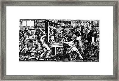 Elijah Parish Lovejoy Framed Print