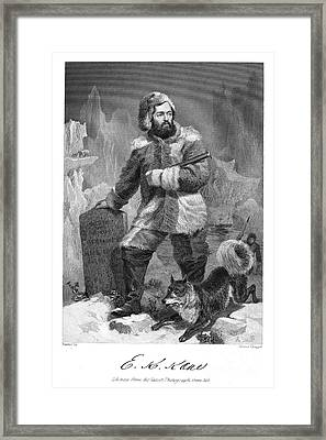 Elisha Kent Kane (1820-1857) Framed Print by Granger