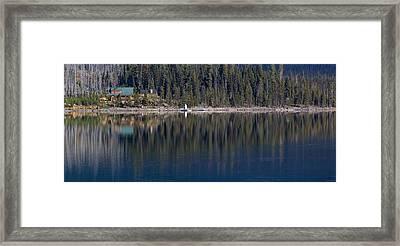 Elk Lake Oregon Framed Print by Twenty Two North Photography