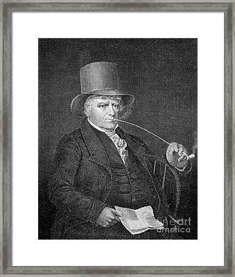 Elkanah Watson (1758-1842) Framed Print by Granger