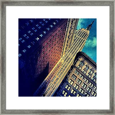 Empire State Building - New York Framed Print