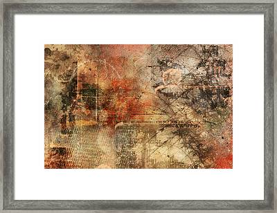 Entropy Framed Print by Christopher Gaston
