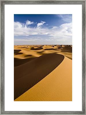 Erg Chigaga, Sahara Desert, Morocco, Africa Framed Print