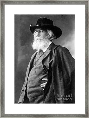 Ernst Haeckel, German Biologist Framed Print