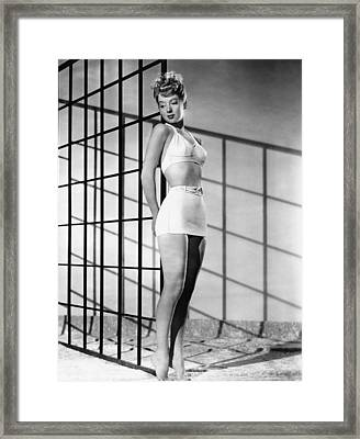 Evelyn Keyes, 1946 Framed Print