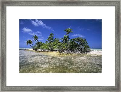 Fakarava Atoll Framed Print