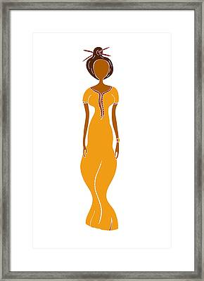 Fashion Drawing Framed Print