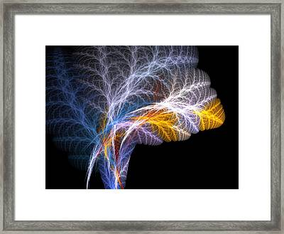 Fern Framed Print by Michele Caporaso