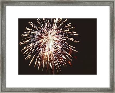 Firework Display Framed Print by Magrath Photography