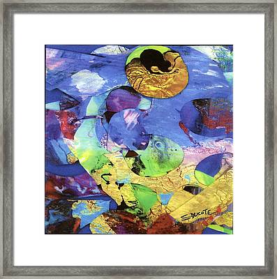 Fish Eyes Framed Print by Seaon Ducote