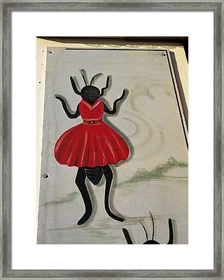 Flea Circus Framed Print by Volker Steger
