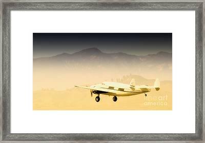 Flight To Macao Framed Print
