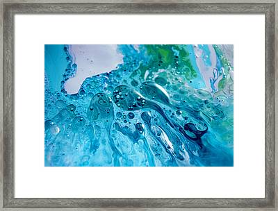 Fluidism Aspect 46 Photography Framed Print by Robert Kernodle
