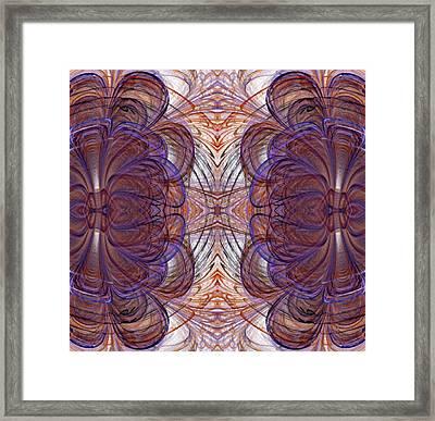 Fractal Kaleidoscope Framed Print