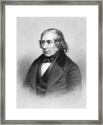Francois Arago, French Physicist Framed Print by