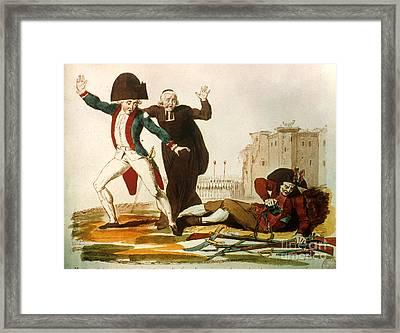 French Revolution, 1792 Framed Print