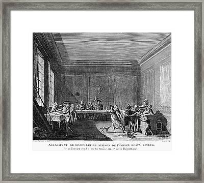 French Revolution, 1793 Framed Print