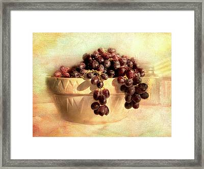 French Thoughts Framed Print