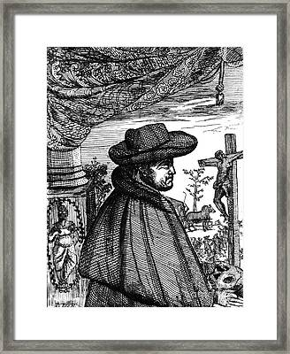 Frère Jacques Beaulieu, French Framed Print by Science Source