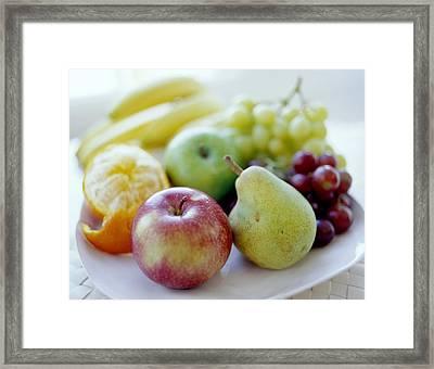 Fruits Framed Print by David Munns