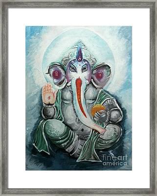Ganesh  Framed Print by Sabrina Phillips