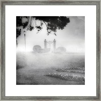 Gateway To The Lake Framed Print by Joana Kruse