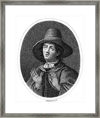 George Fox (1624-1691) Framed Print
