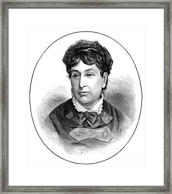 George Sand (1804-1876) Framed Print by Granger