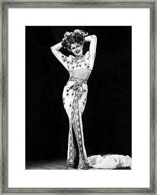 Gilda, Rita Hayworth, 1946 Framed Print