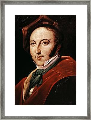 Gioacchino Rossini Framed Print by Granger