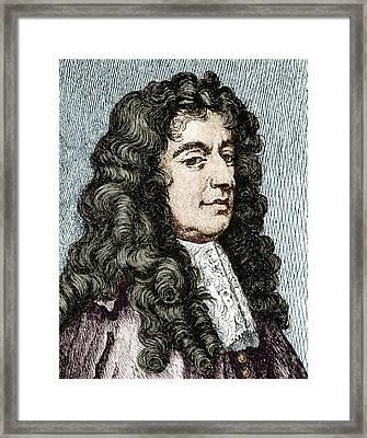 Giovanni Cassini, Italian Astronomer Framed Print by Sheila Terry