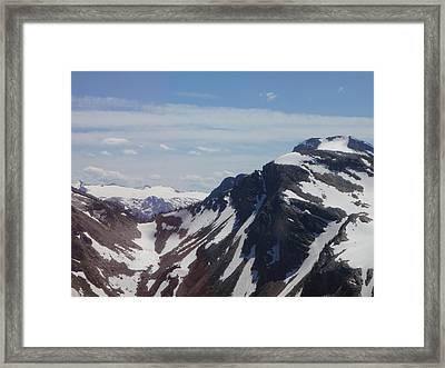 Glazier Framed Print by Teresita Ganzon Pagliacci