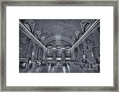 Grand Central Station Framed Print by Susan Candelario