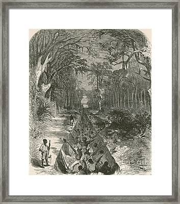 Grants Canal, 1862 Framed Print by Photo Researchers