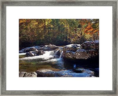 Framed Print featuring the photograph Great Smoky Mountains by Janice Spivey