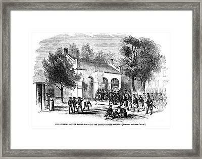 Harpers Ferry Framed Print by Granger