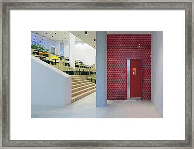 Health Care College A Medical Training Framed Print by Jaak Nilson