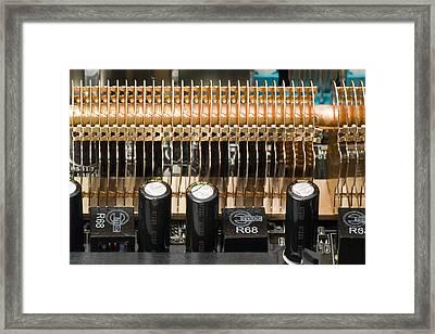 Heat Sink Framed Print by Paul Rapson